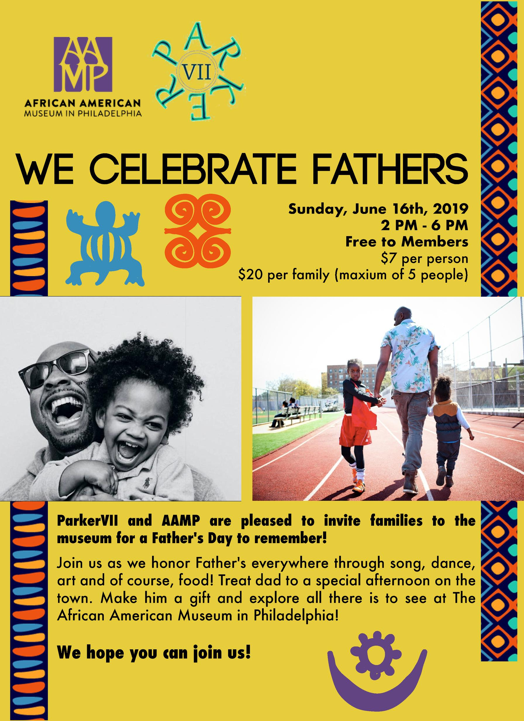 Father's Day Program Flyer