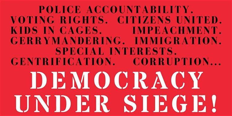 Democracy Under Siege @ Manny's