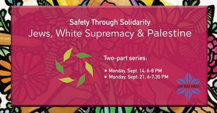 Jews, White Supremacy & Palestine @ Online