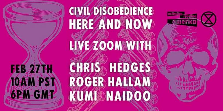 Civil Disobedience, Here & Now @ Online
