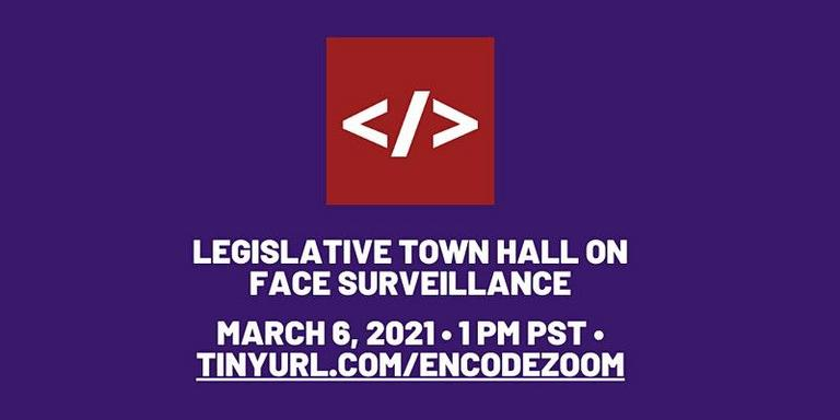 Town Hall on Face Surveillance @ Online
