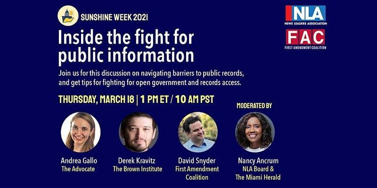 Inside the Fight for Public Information @ Online