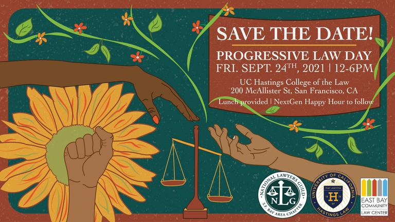 Progressive Law Day - NLG @ Hastings College or online