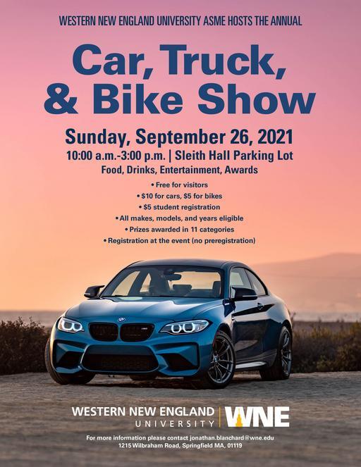 Car, Truck, & Bike Show Poster