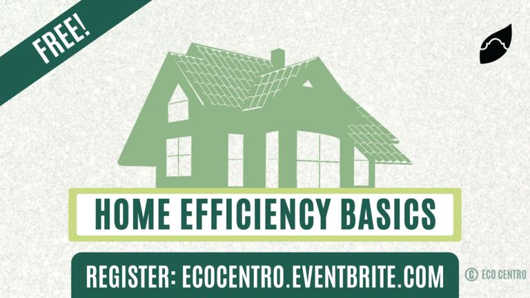 Home Efficiency Basics Eco Centro