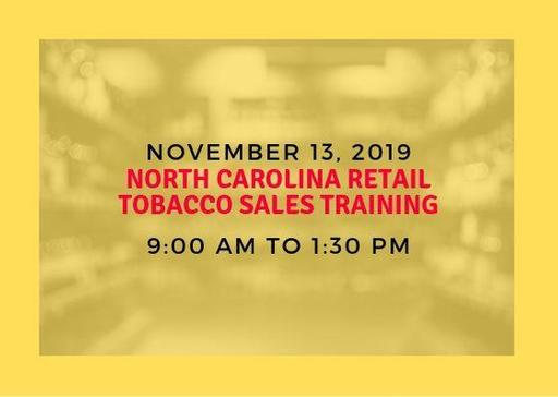 North Carolina Retail Tobacco Sales Training