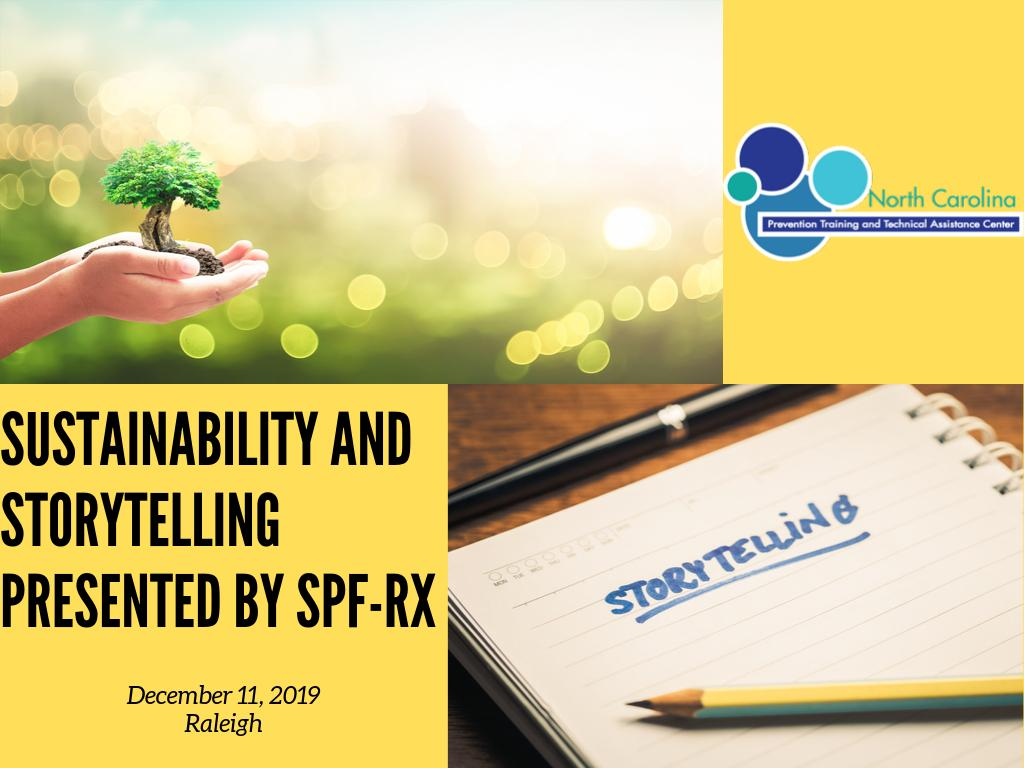 Sustainably and Storytelling Presented by SPF-Rx
