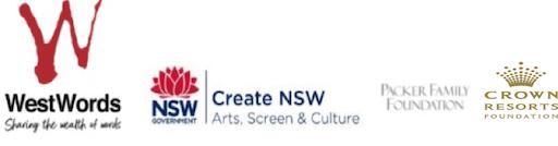 westwords and sponsor logos