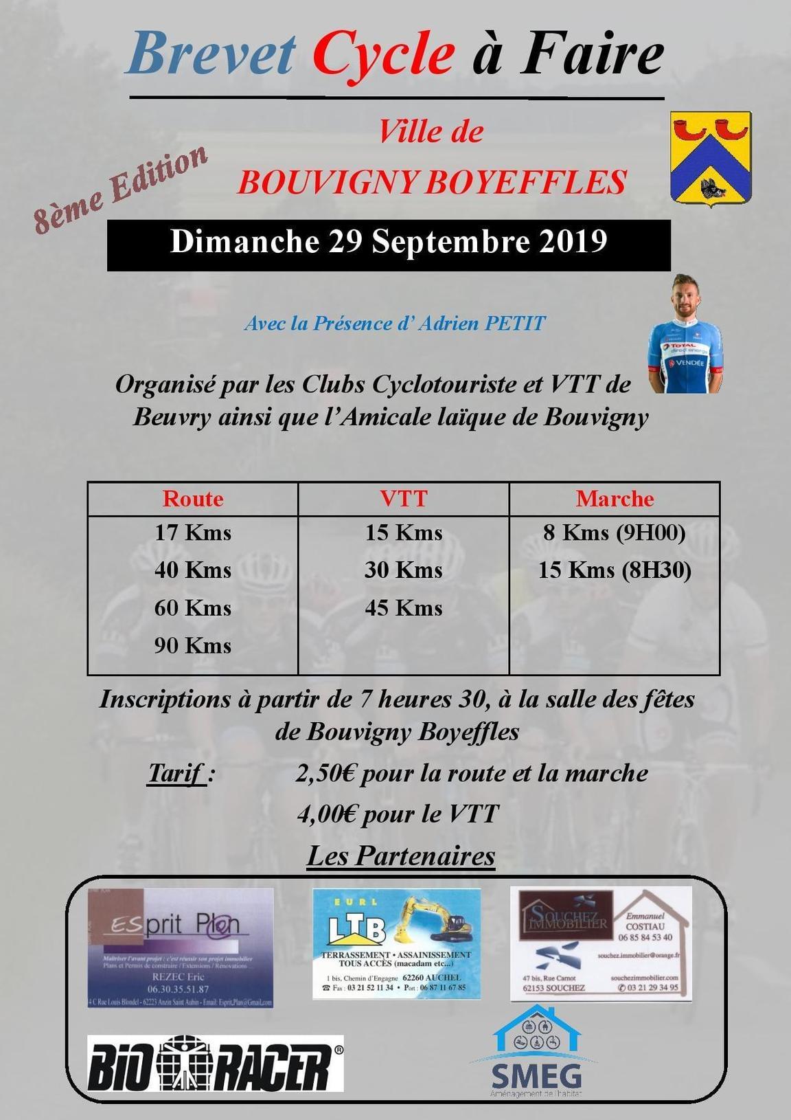 Bouvigny Boyeffles - Flines (AL Cyclo) - Monts et Moulins
