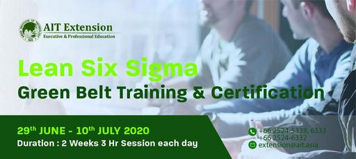 Lean Six Sigma Green Belt Course Banner (1)