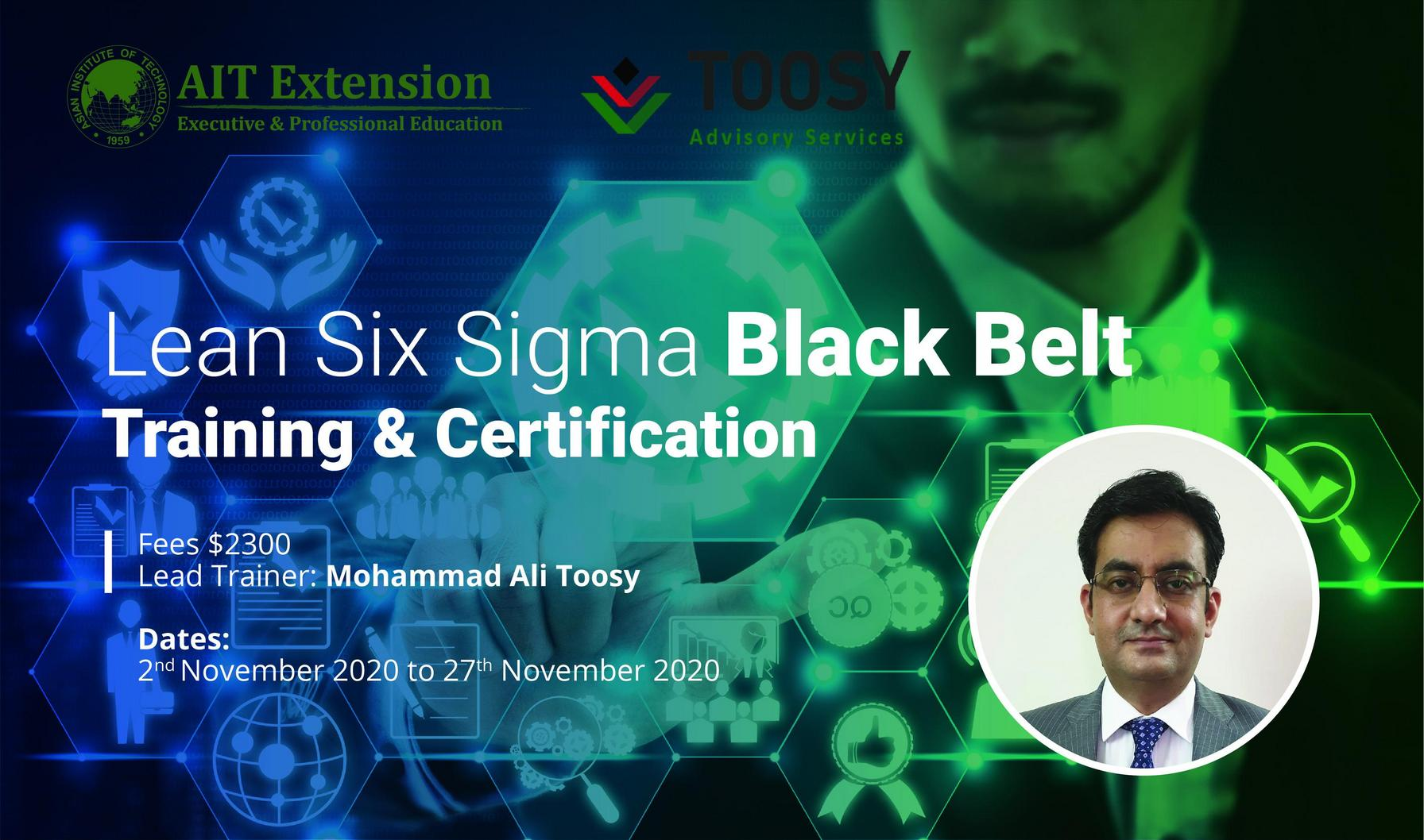 2-Six Sigma Black Belt _Banner_2 Nov - 27 Nov 2020