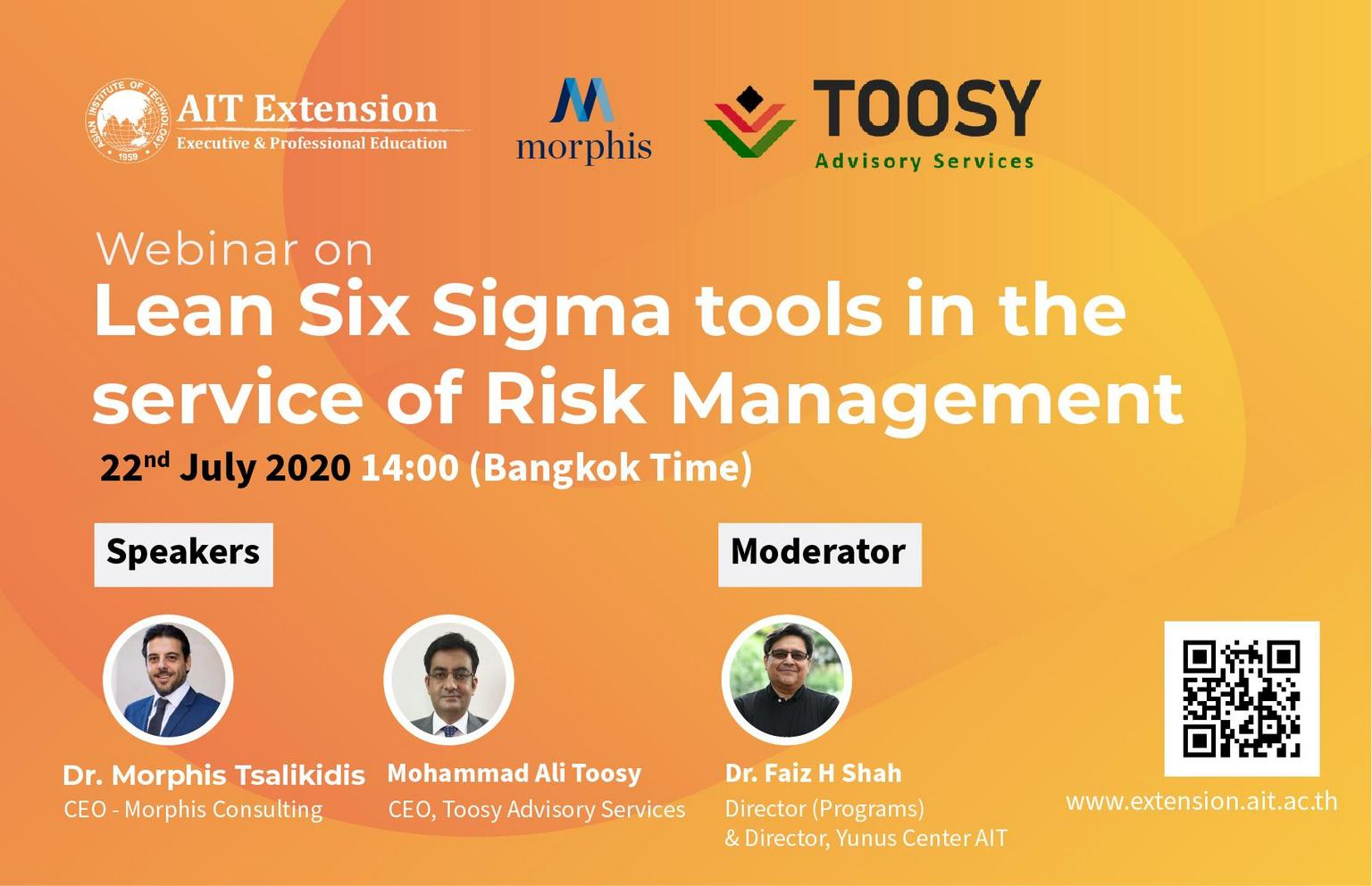 Lean Six Sigma tools in the service of Risk Management_Banner