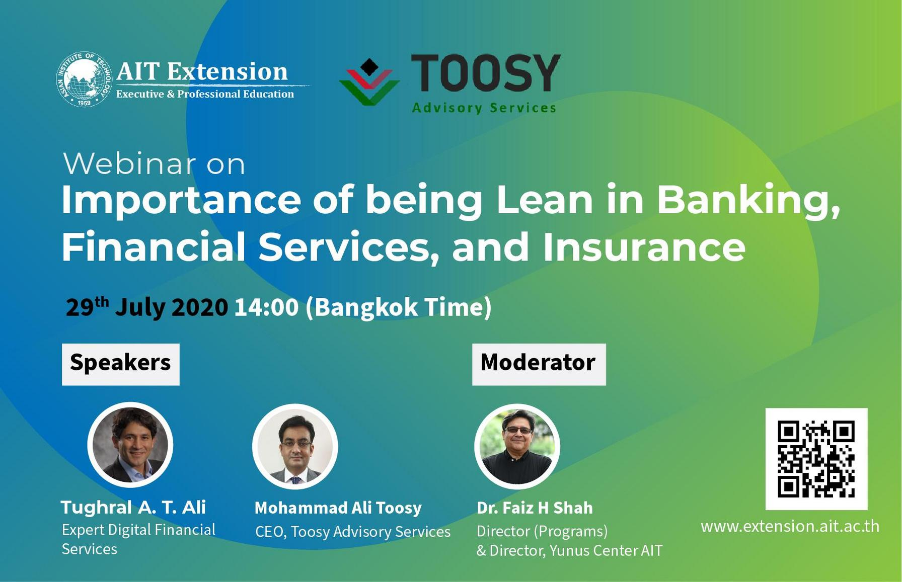 Importance of being Lean in Banking, Financial Services, and Insurance _Banner