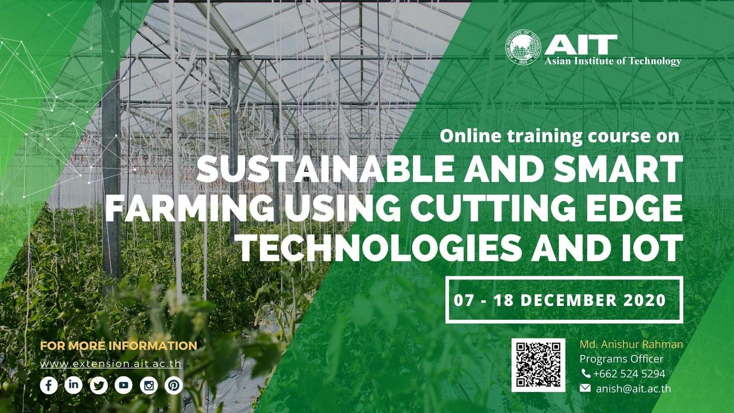 Sustainable and Smart Farming using Cutting Edge Technologies and IoT