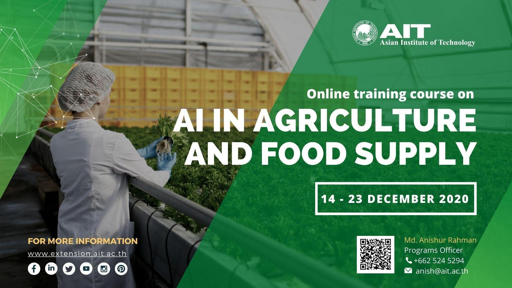 AI in Agriculture and Food Security