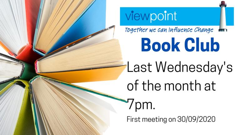 Book Club The last Wednesday of the month