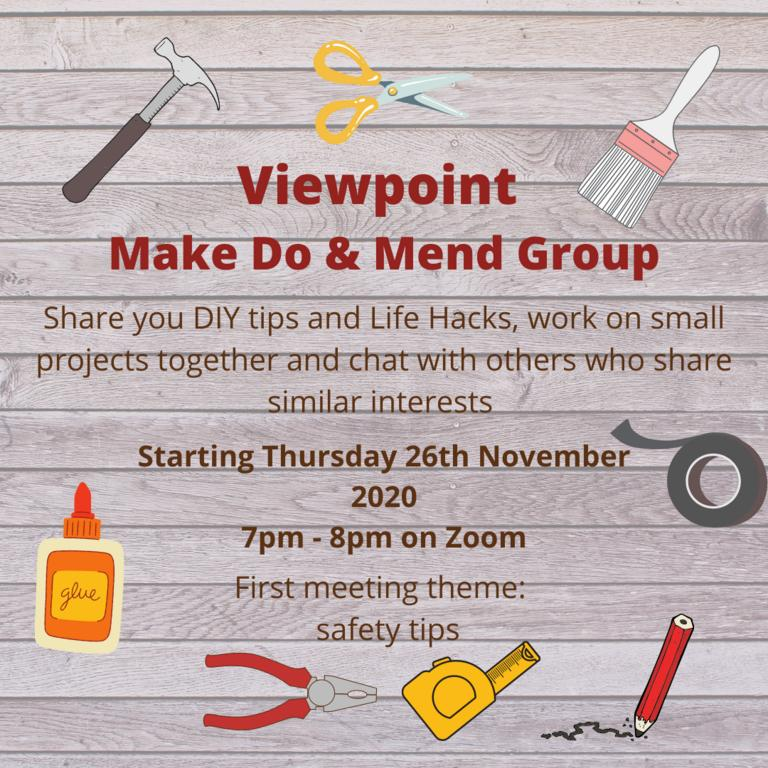Viewpoint Make Do  Mend Group